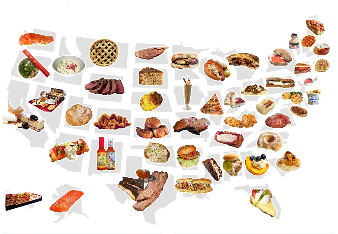 2Best State Food Map_02