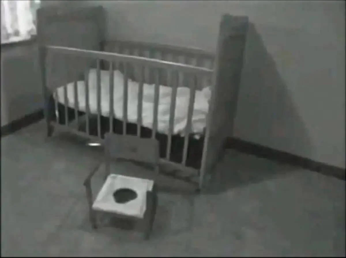 Genie lived 10 years of her life chained to this potty chair. After intensive therapy, she finally told researchers that she even slept there. But her parents never bothered to potty train her. When a social worker found her in 1970 at age 13, she still wore diapers.