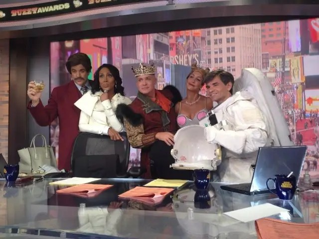 Halloween Good Morning America Cast 2013