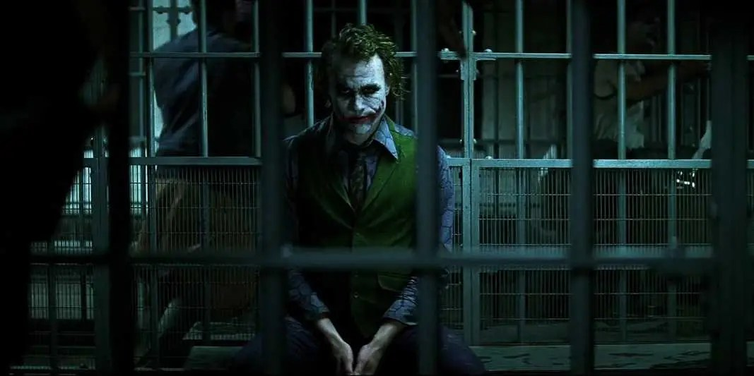 Image result for joker in jail