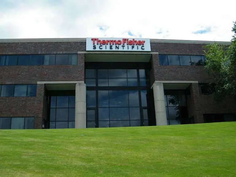 11. Thermo Fisher Scientific is held by 20 funds
