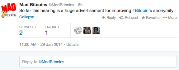 bitcoin regulation tweets