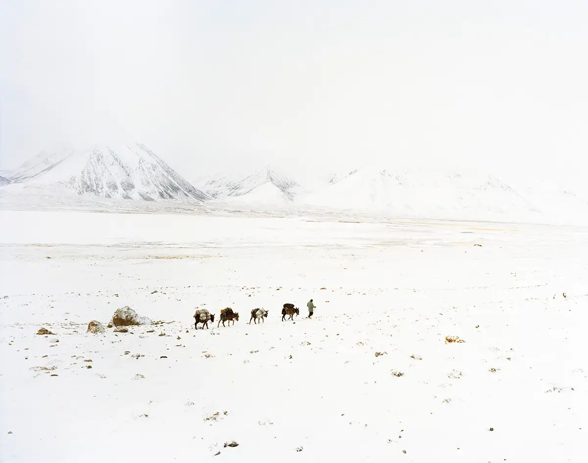 They drove until they reached the village of Sarhad-e-Wakhan, at the end of the road built by the Soviets 30 years prior.