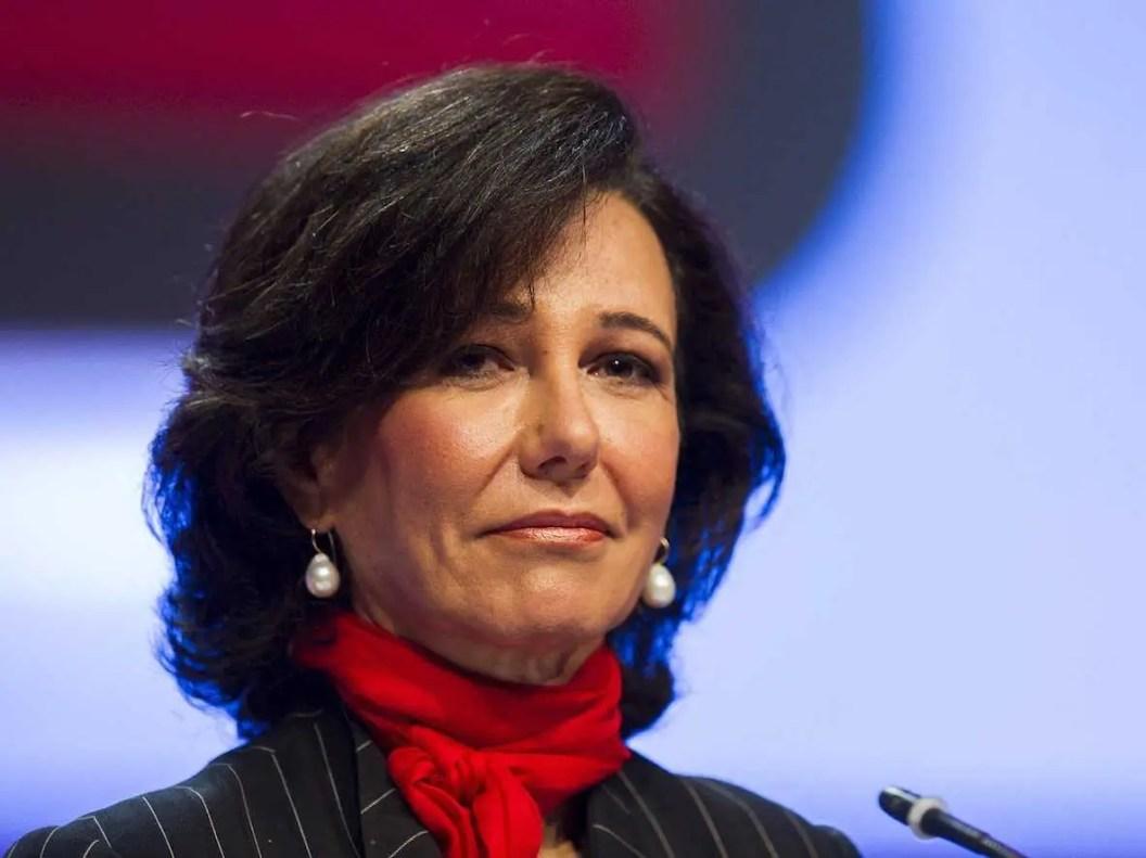 9. Ana Patricia Botín: Presidenta, Grupo Santander, Banco Santander, España