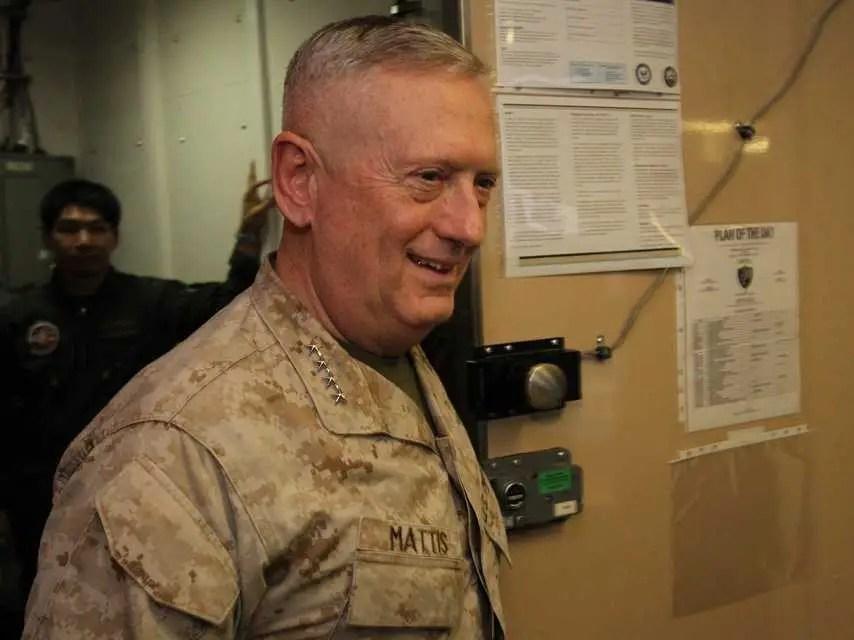 General Mattis USS Ponce