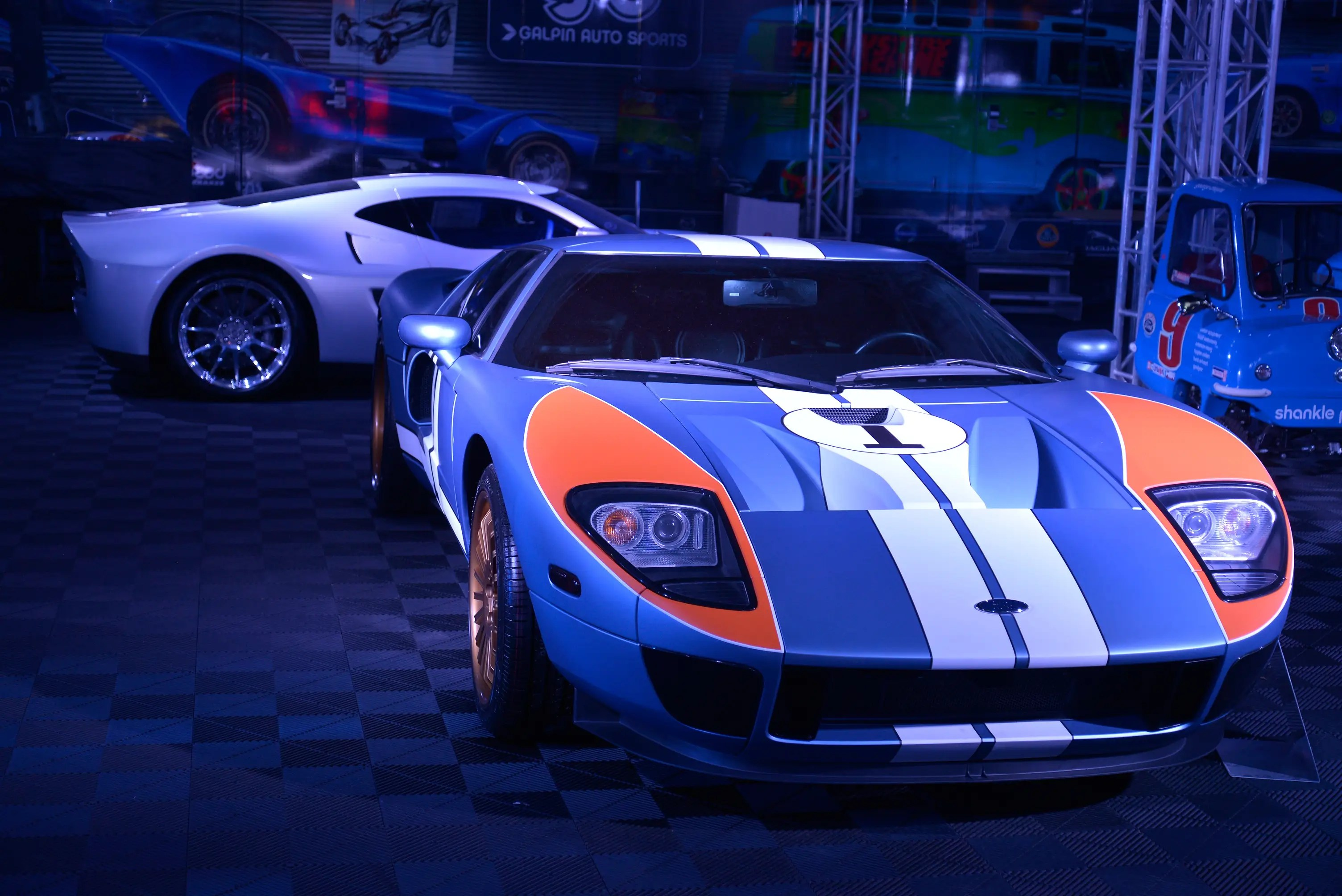 SEMA offers something for everyone. The usual hot commodities include cars like the Ford GT ...