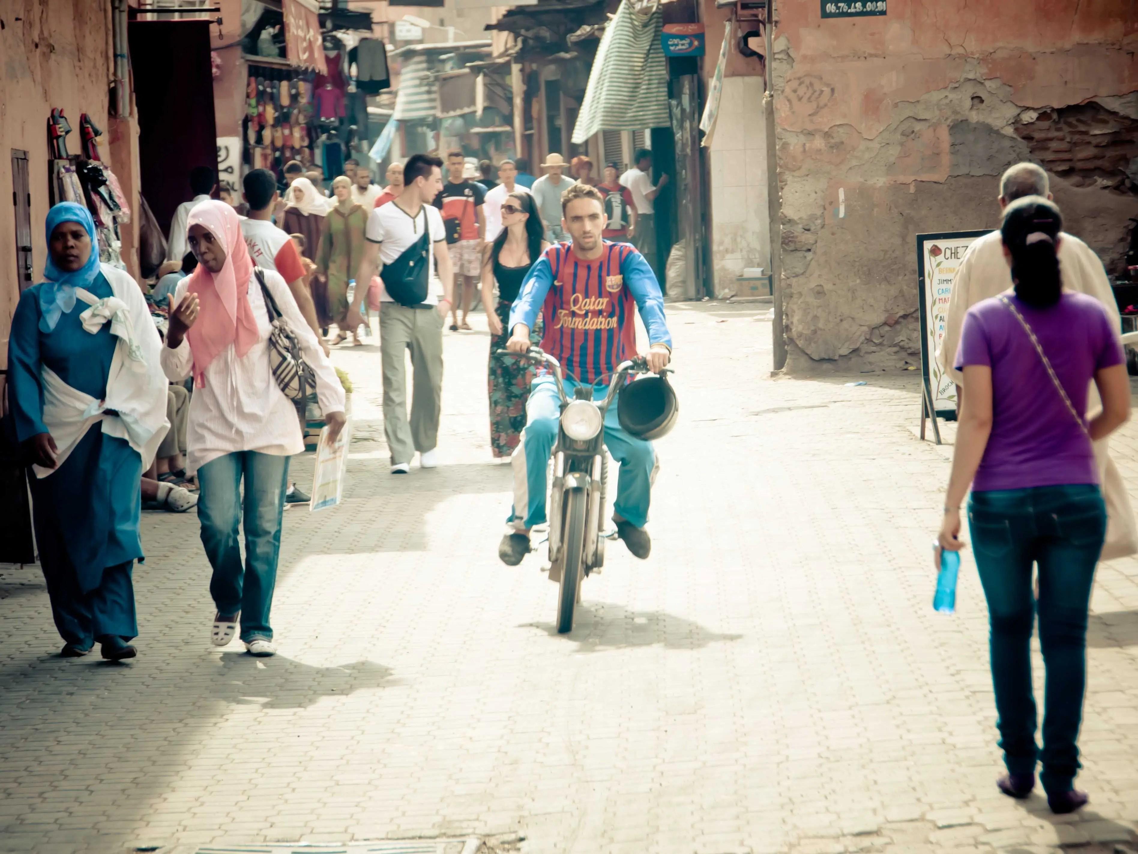 Marrakech morroco woman women travel