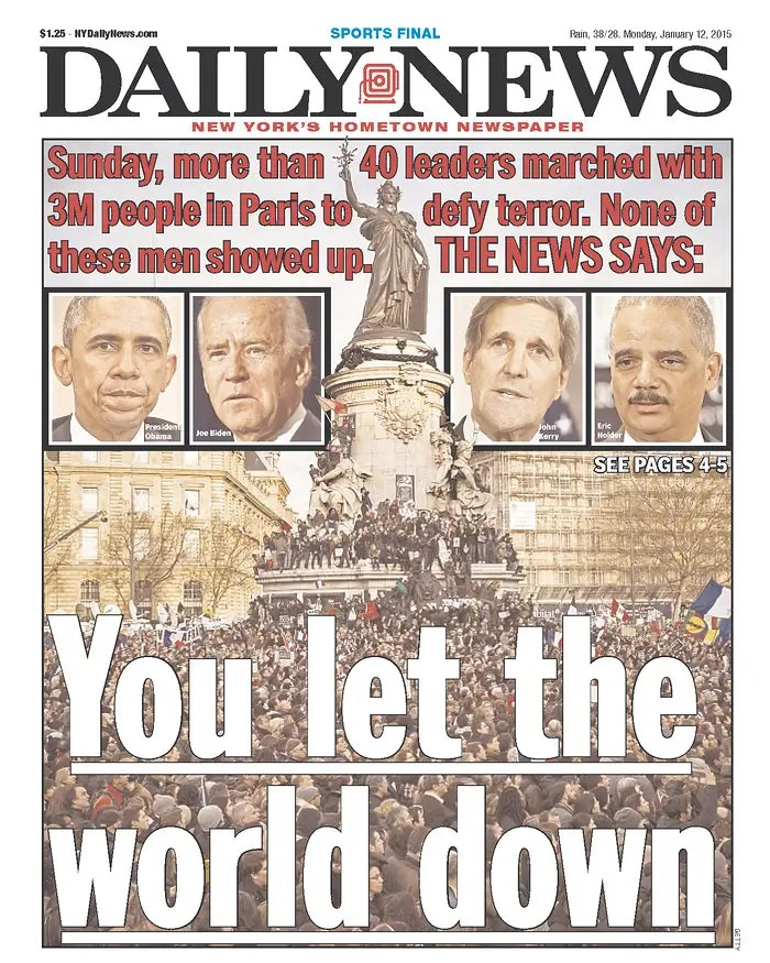 ny daily news paris