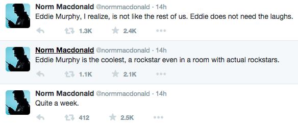 norm macdonald tweets 13