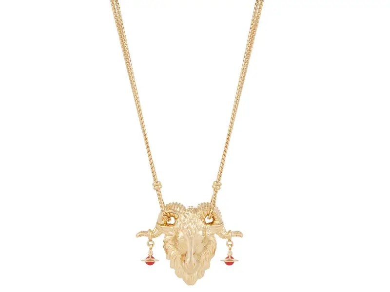 Vivienne Westwood Chinese New Year Goat Pendant