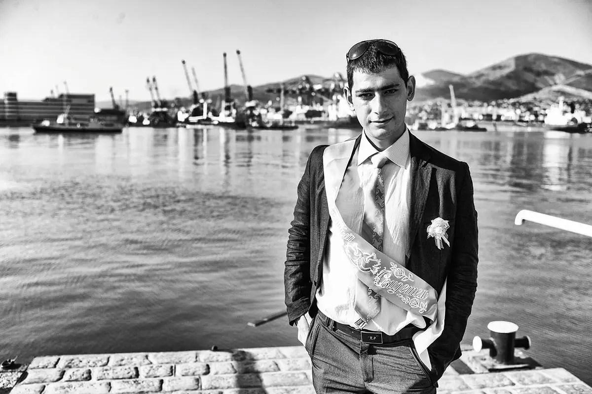 "Rodion, age 22. Profession: Sailor. Passion or Dream: ""I dream about world peace."""