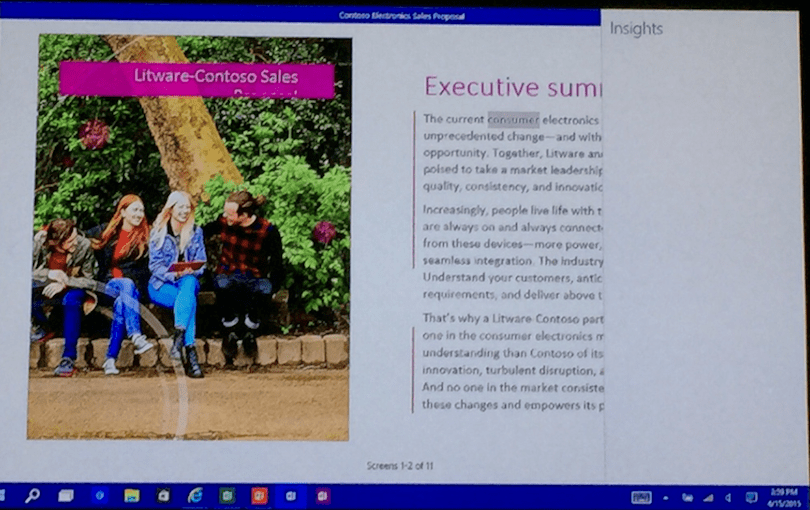 We just got a closer look at Microsoft Office 2016, and here are the features we like