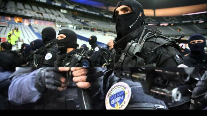 5. Few of the world's counterterrorism forces can compete with France's National Gendarmerie Intervention Group, or GIGN. The group is 200 strong and trained specifically to respond to hostage situations. It claims to have freed more than 600 people since it was formed in 1973. It is against the law in France to publish pictures of its members' faces.