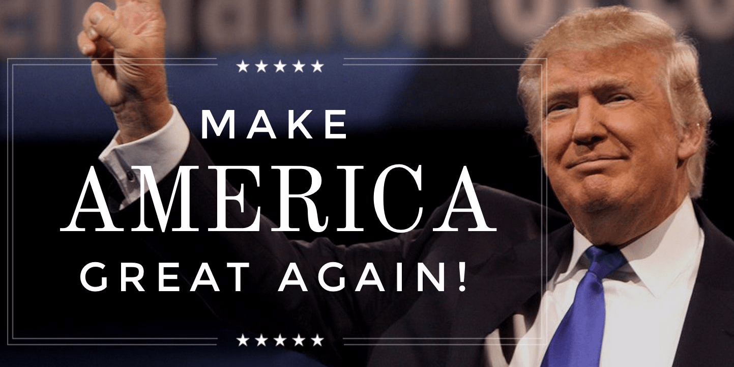 Image result for Trumps slogan