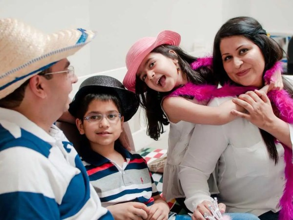 bushra azhar family