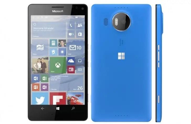 New Lumia smartphones.