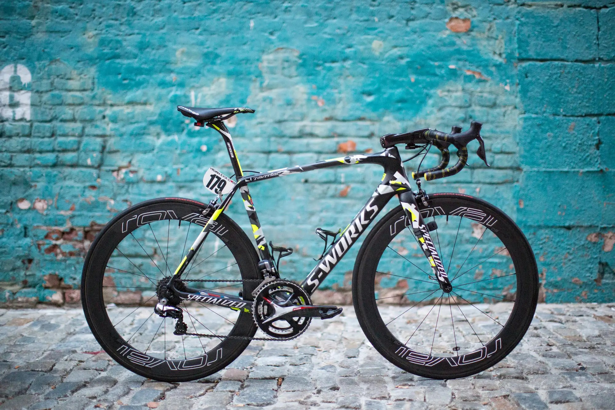 Sagan's Specialized S-Works Tarmac is believed to weigh a tad under 15 pounds. The Tarmac with Di2 Retails for $9,250 USD.