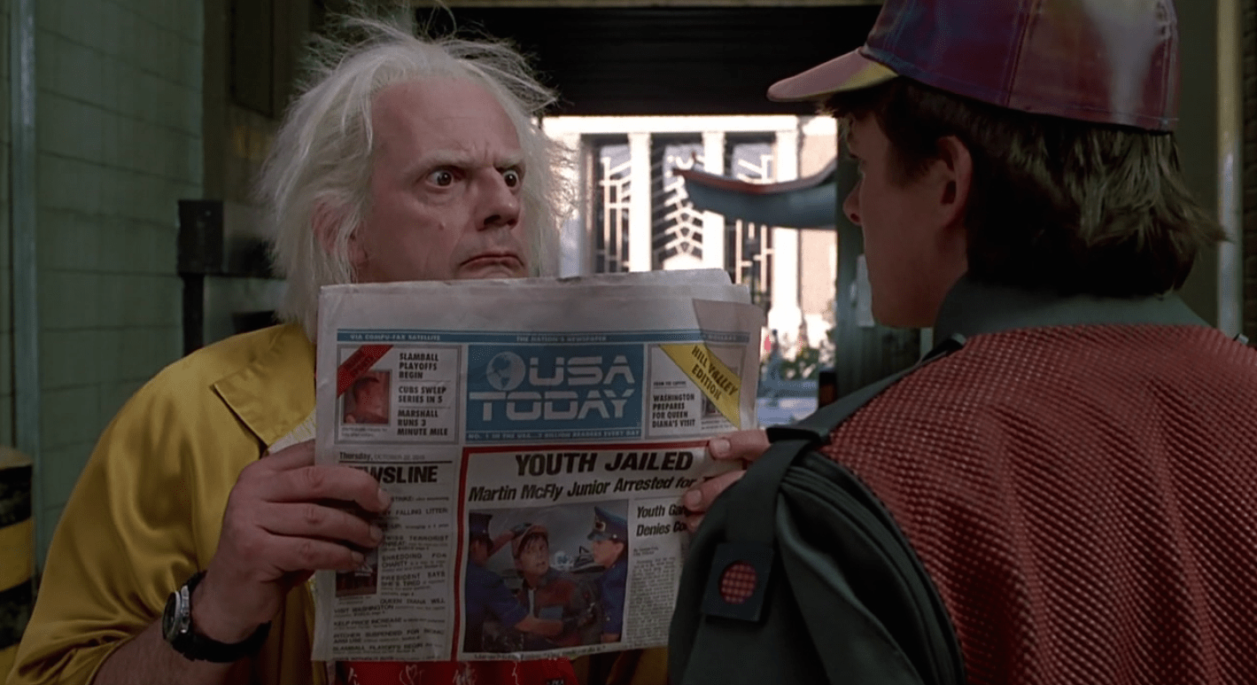 Back To The Future Day Is October 21