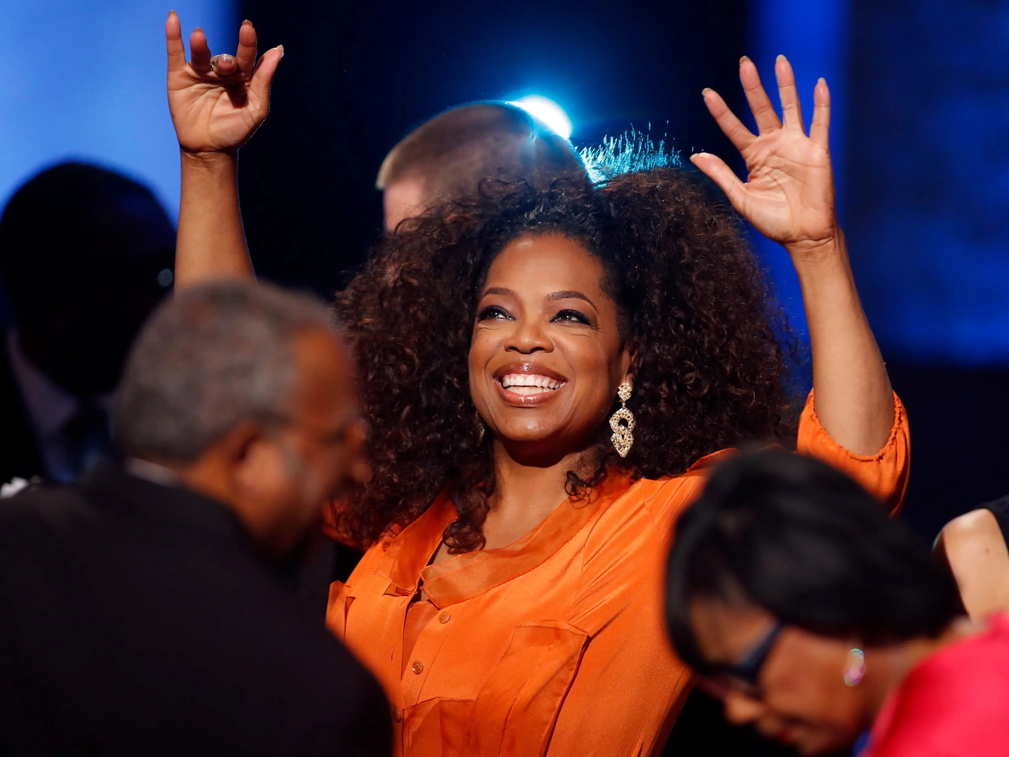 Oprah Winfrey turned a life of hardship into inspiration for a multi-billion-dollar empire.