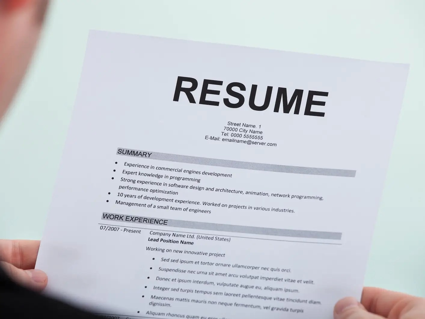 resume copies resume for proofreading job online editing and