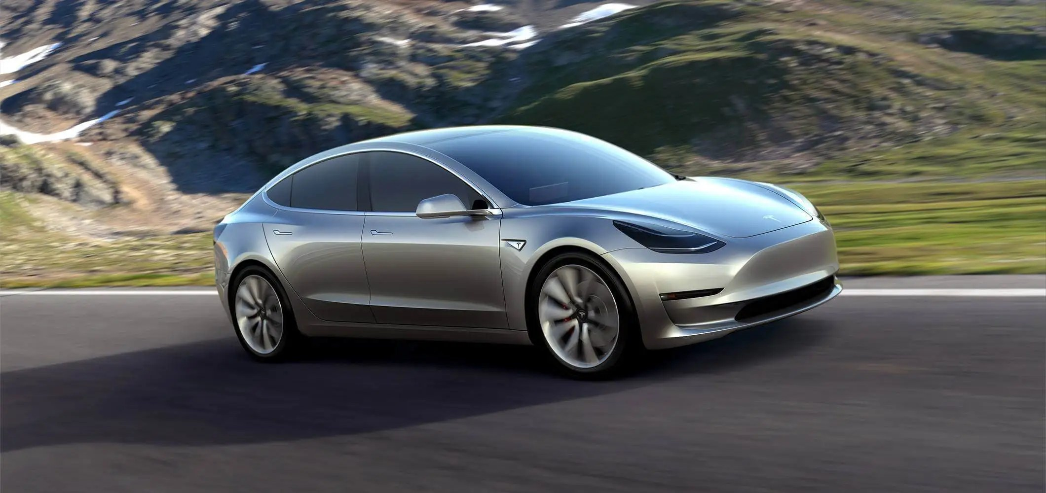 3. The Model 3 has a starting range of 215 miles, which should accommodate most people's commutes.