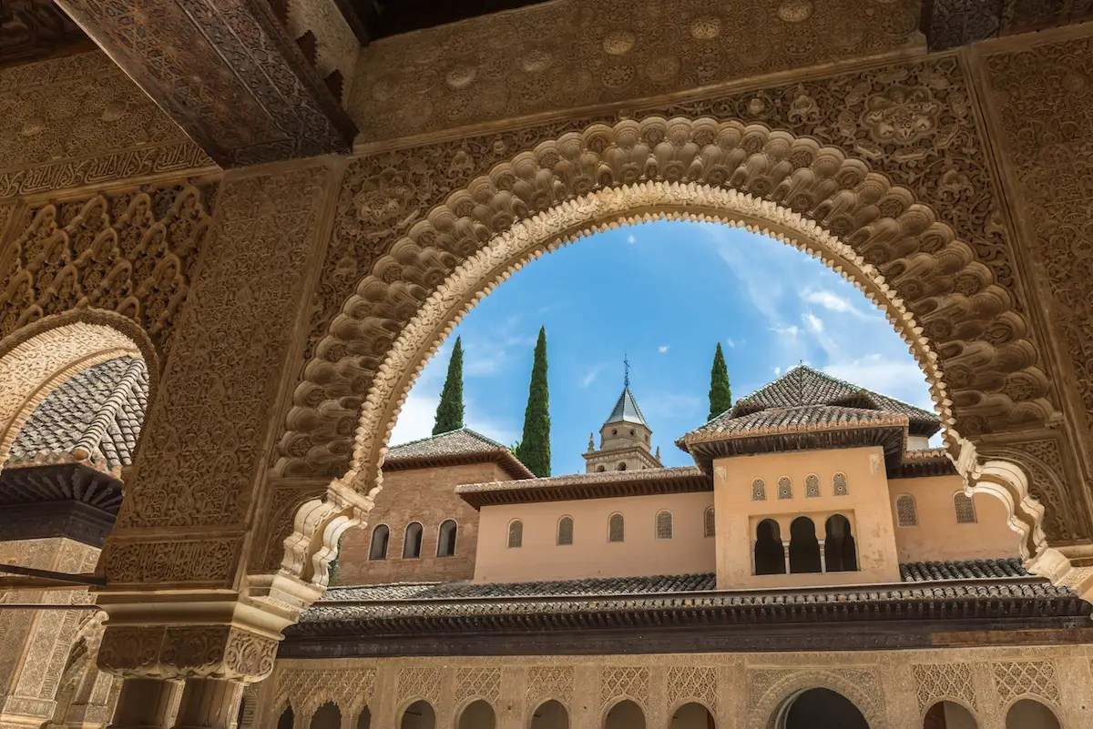 38. It's not hard to see what makes Alhambra — a historic palace/fort in Granada, Spain, that's an ode to the country's Moorish past — a World Heritage Site.