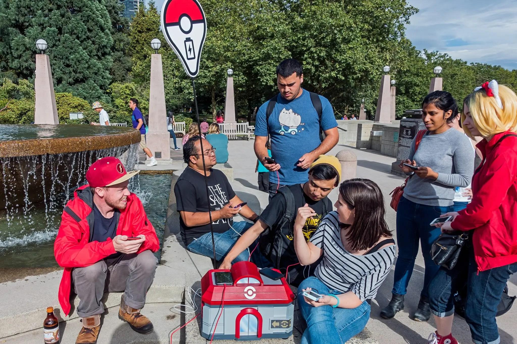 spencer kern pokemon go charging station test