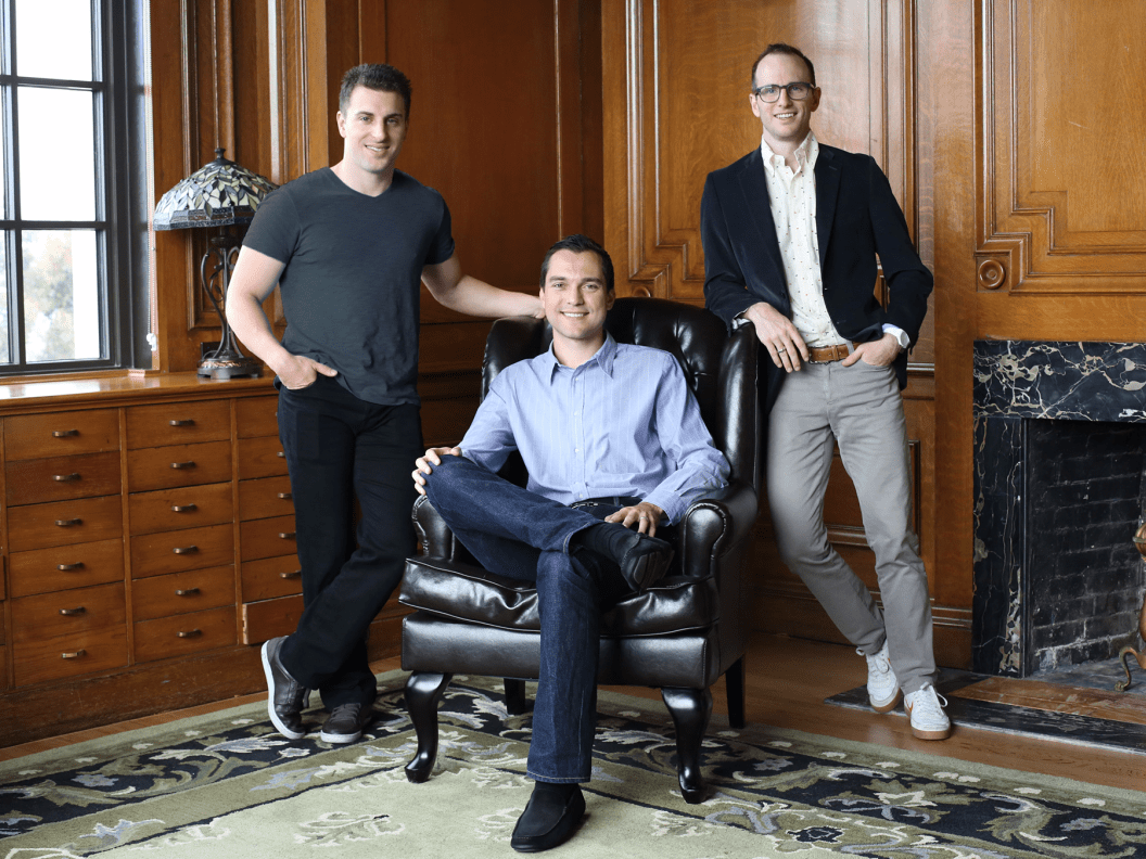 All three of Airbnb's founders have publicly pledged to donate more than 50% of their wealth to the Giving Pledge, a philanthropic initiative started by Warren Buffett and Bill and Melinda Gates.