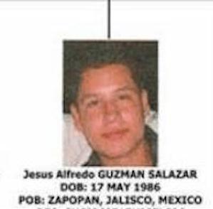 Jesus Alfredo Guzman El Chapo Guzman son Sinaloa cartel