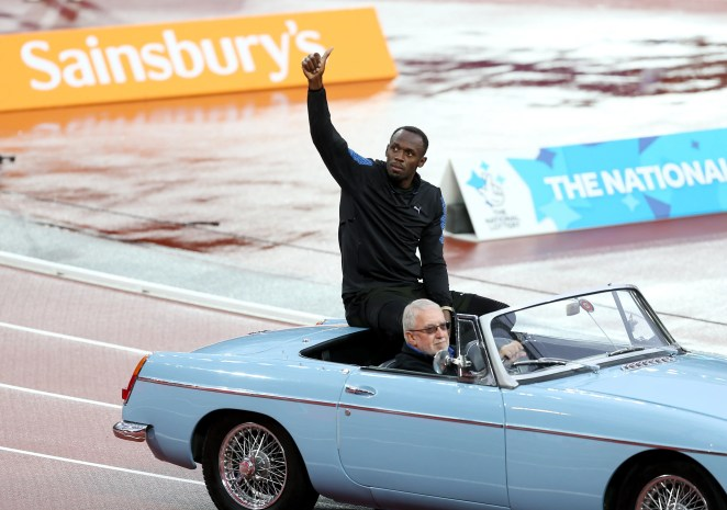 Bolt earned $2.5 million in prize money and appearance fees in the past 12 months, according to Forbes.