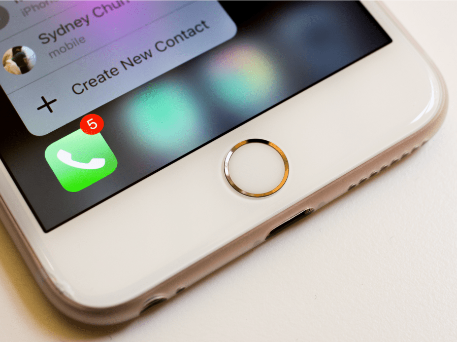 The home button will be invisible.