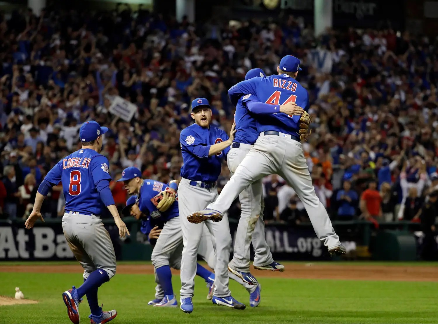 Image result for cubs world series win