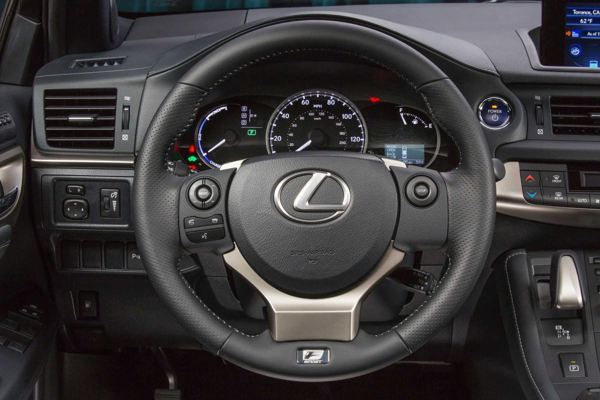 LEXUS CT200h REVIEW Business Insider