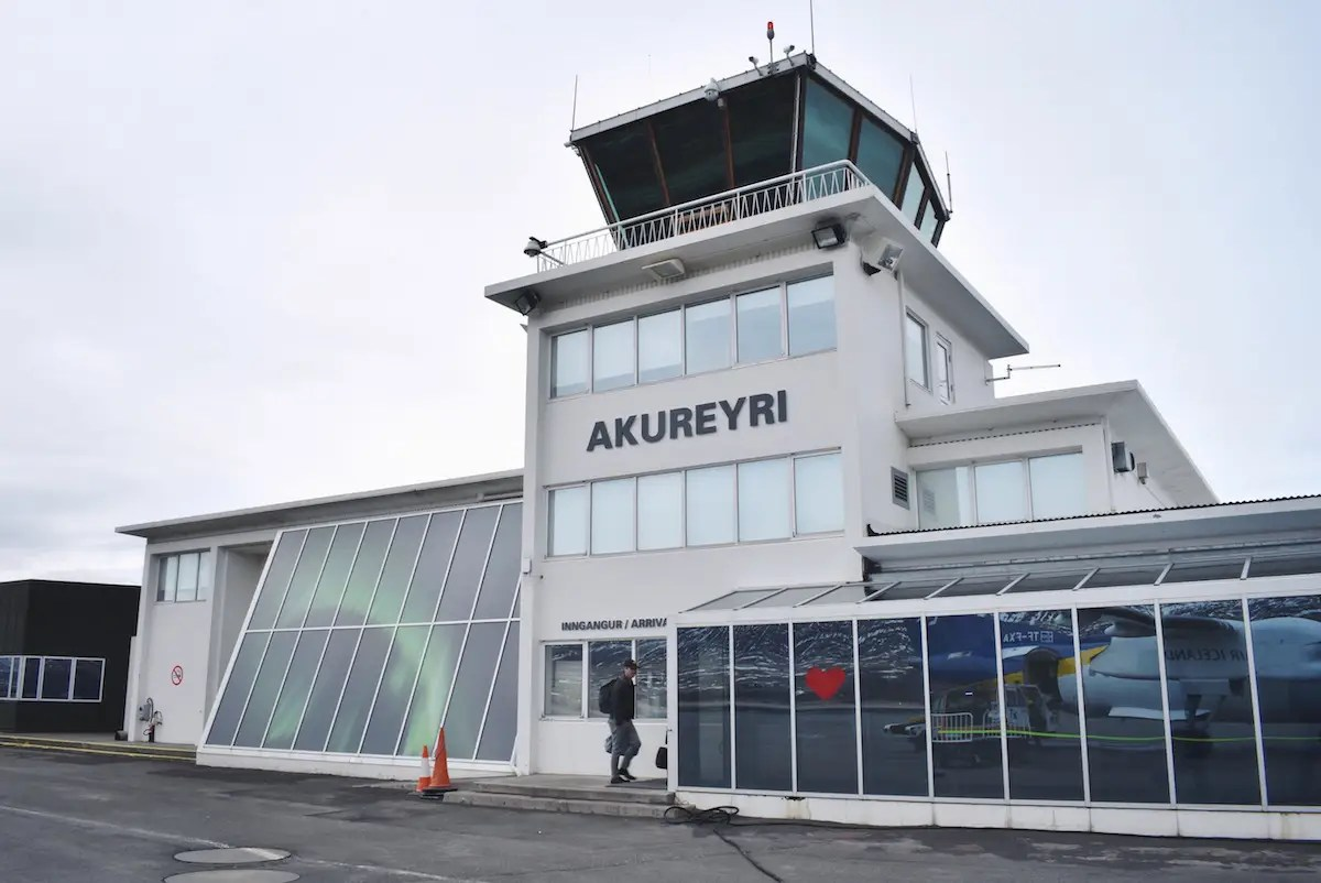 The next morning, Morrow continued his journey to Deplar Farm with a short 40-minute flight northeast to Akureyri.