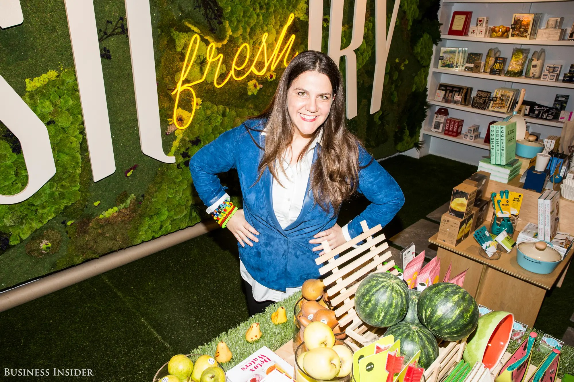 The partnership comes to life inside Story, a retail space that changes every three to eight weeks like a gallery. It was founded by consultant Rachel Shechtman in 2012.