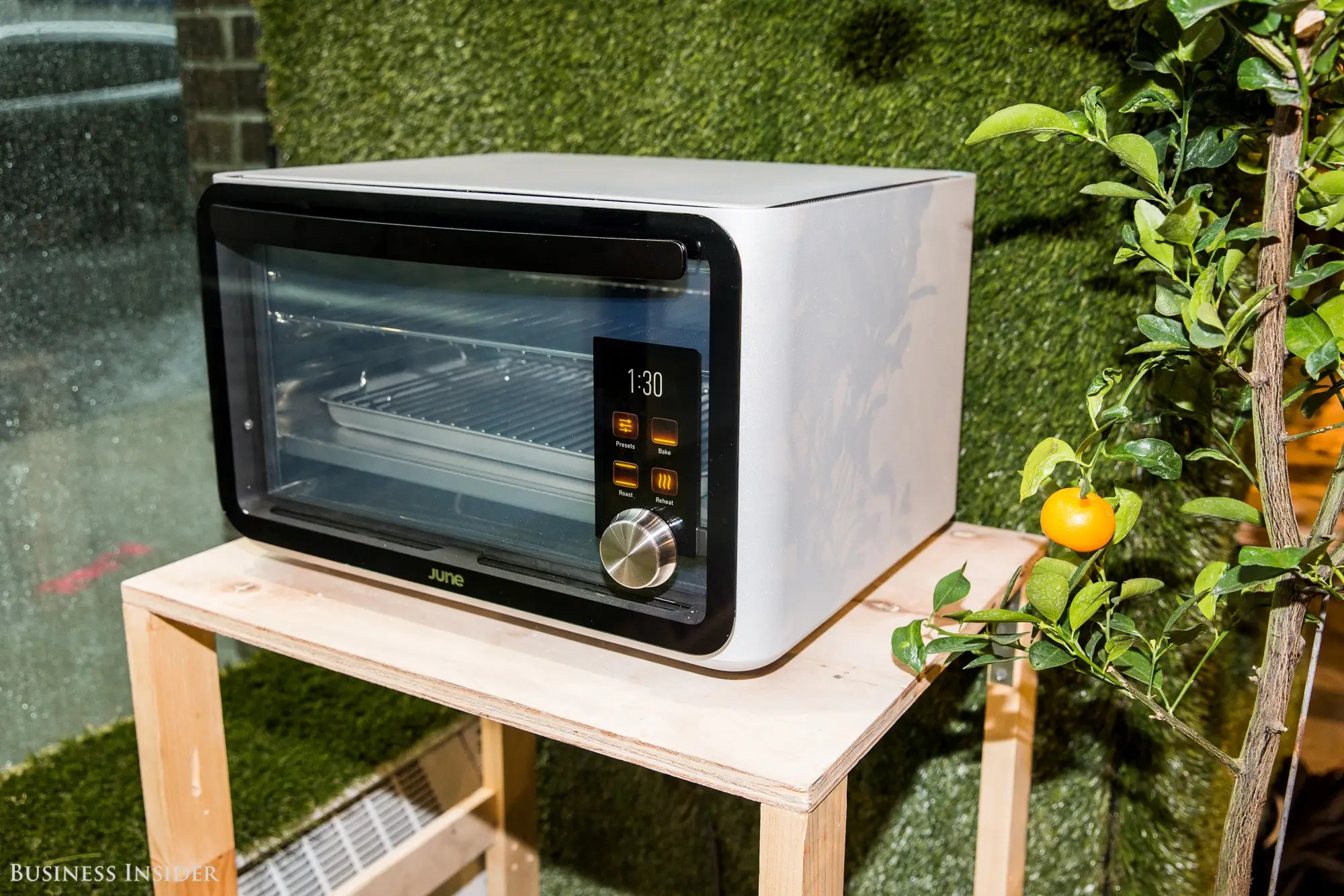 ... while the most expensive item is Silicon Valley's famed June Oven, which uses artificial intelligence to cook meals and costs $1,500.
