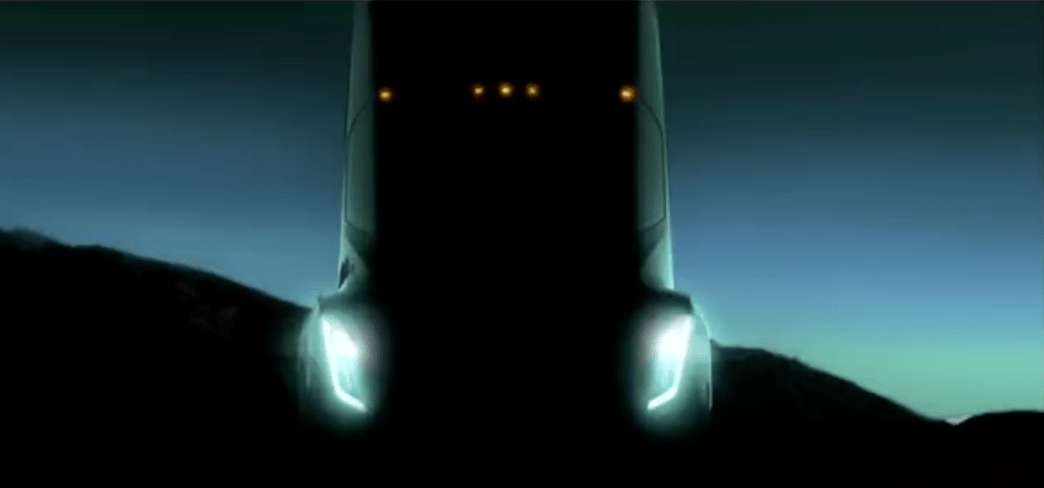 """Meanwhile, Tesla will unveil its own electric semi in September. CEO Elon Musk hasn't provided specs for the vehicle, but has said it can drive """"like a sports car."""""""
