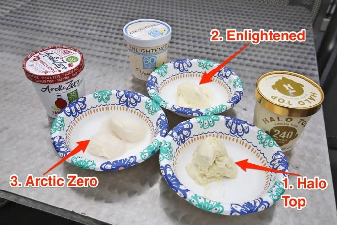Vanilla Diet Ice Cream Taste Test Skitch Who makes the best diet ice cream, Halo Top, Arctic Zero, or Enlightened Who makes the best diet ice cream, Halo Top, Arctic Zero, or Enlightened vanilla 20diet 20ice 20cream 20taste 20test 20skitch