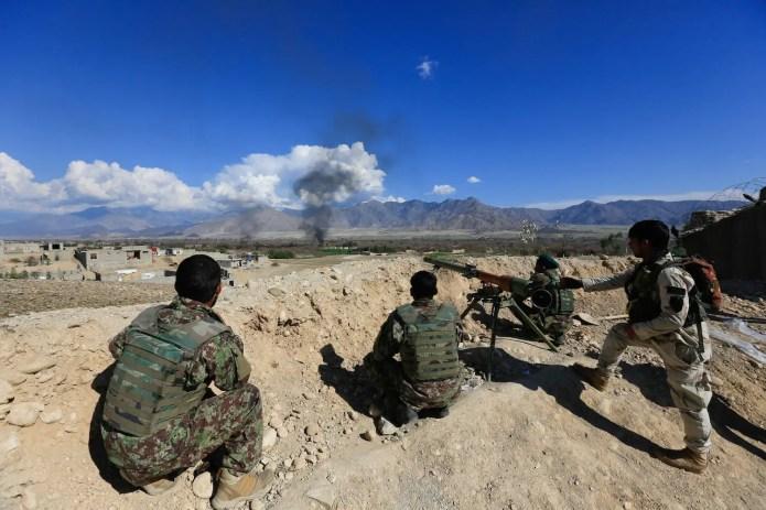 Taliban Afghan Security Forces Afghanistan