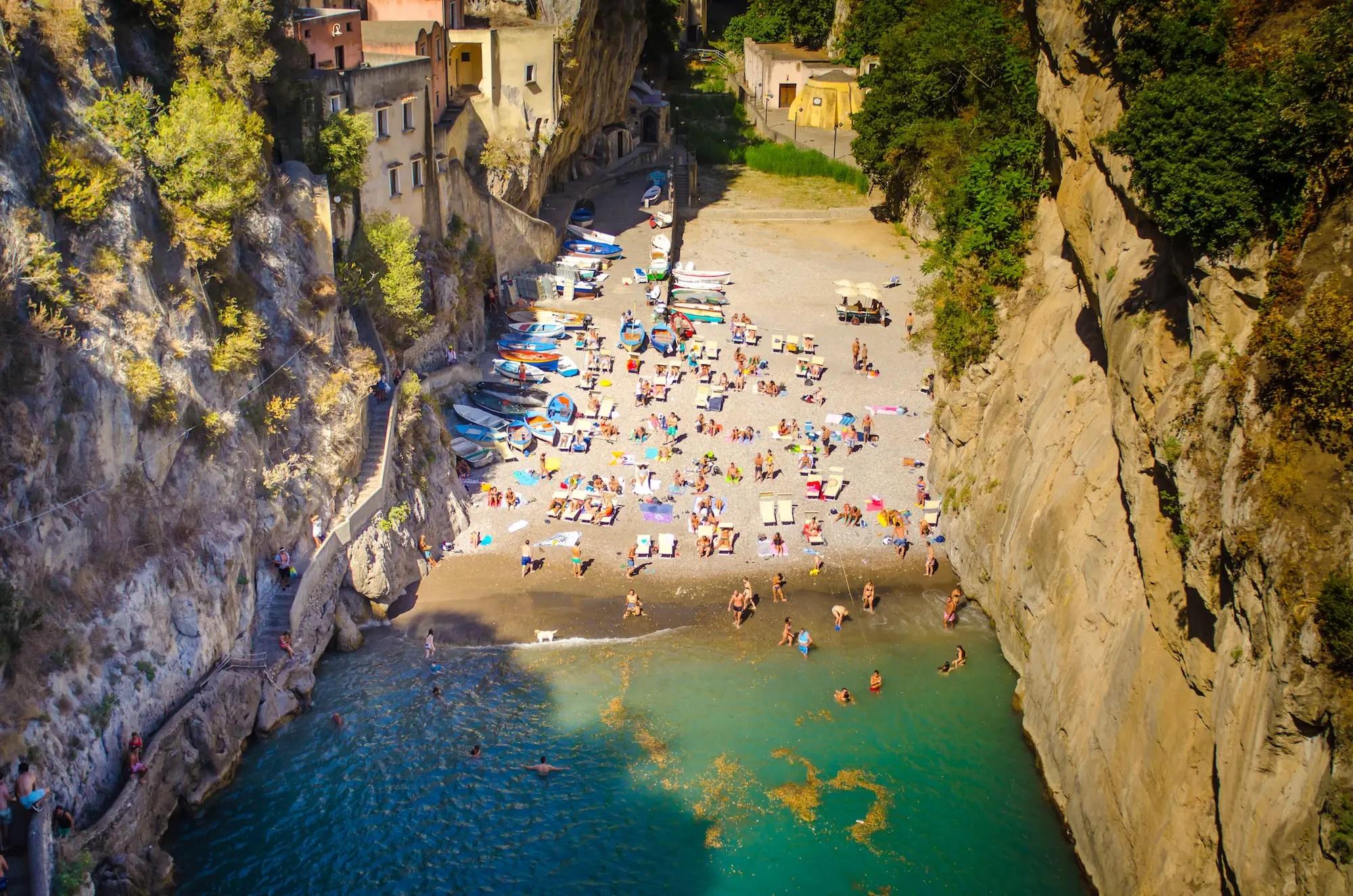 Furore, Italy.