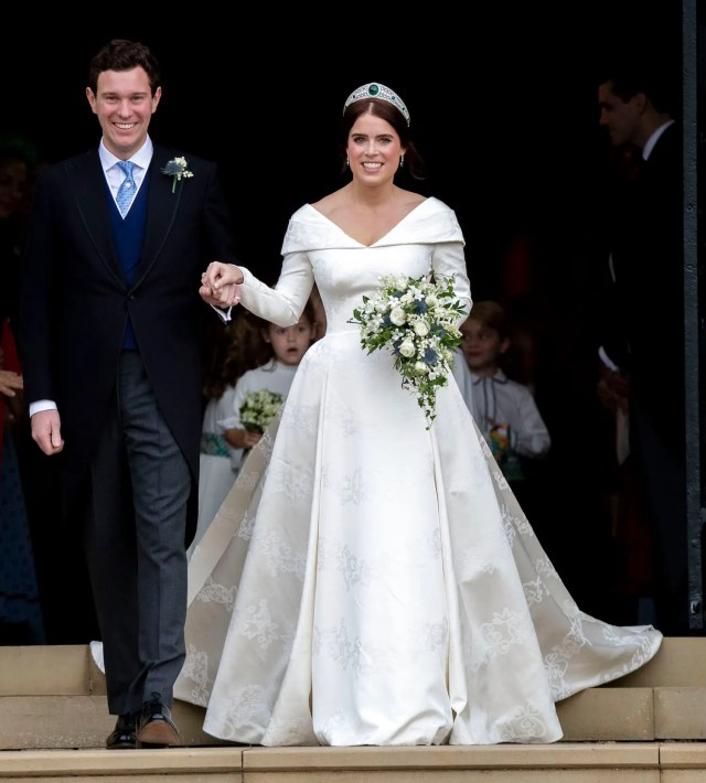 Princess Eugenie wedding gown