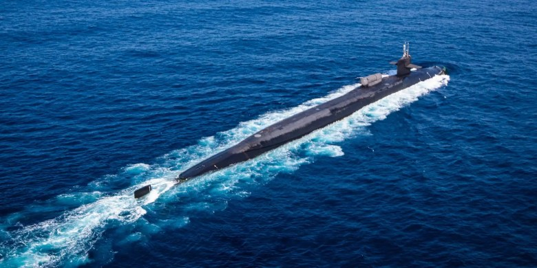 Navy submarine USS Ohio