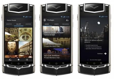 Đây là chiếc smartphone chạy Android đầu tiên của Vertu