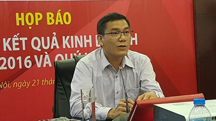 Ông Nguyễn Thanh Đạm, Tổng giám đốc Vietlott