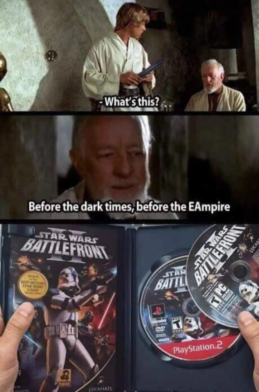 Swtor Vs Latest Star Wars Games By Ea In My Eyes Meme Swtor
