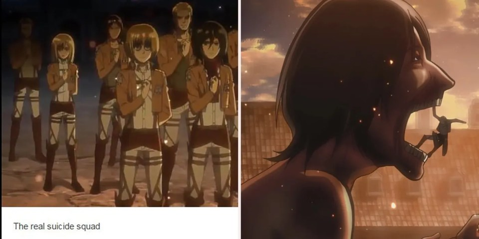 10 Hilarious Attack On Titan Memes Only True Fans Will Love