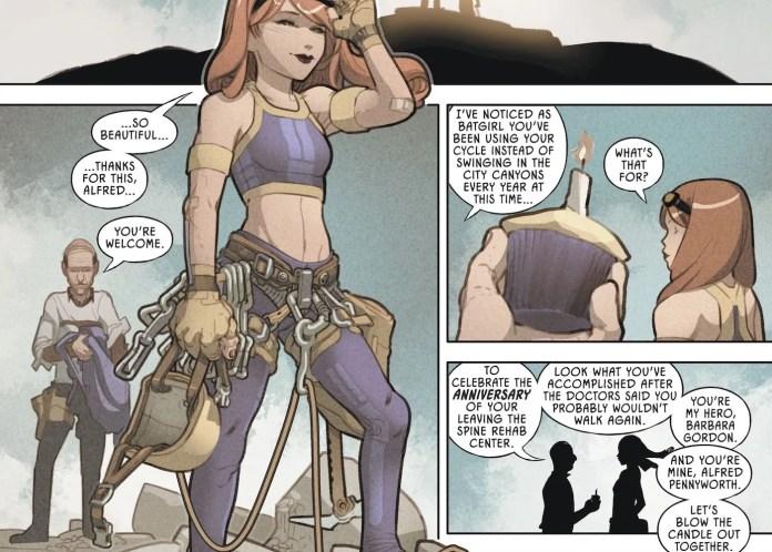 DC Comics Batman Alfred Pennyworth Batgirl