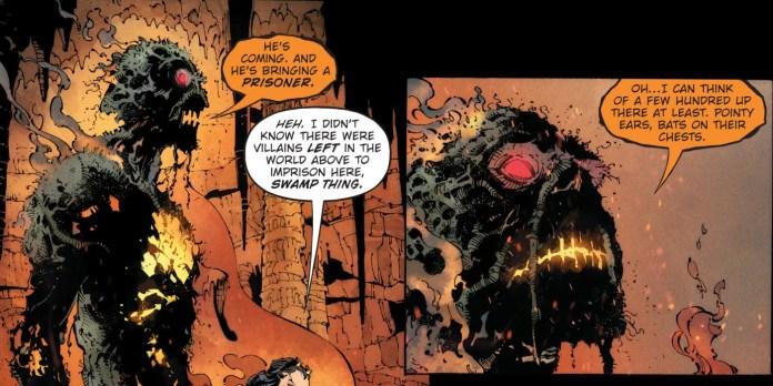 death metal dc comics swamp thing