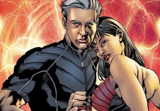 Image result for ultimate quicksilver and scarlet witch