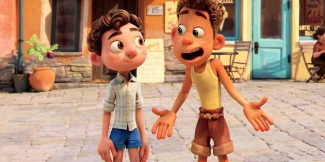 Luca Poster Shows Pixar Blending Seaside Fun and Monsters